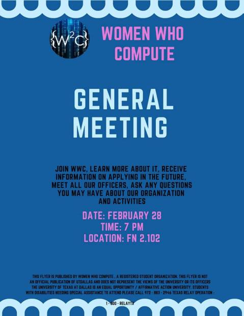 Feb General Meeting