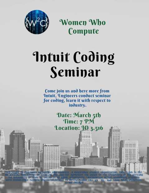 Intuit Coding Seminar