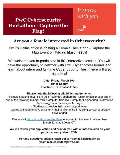 PWC Women Hackathon