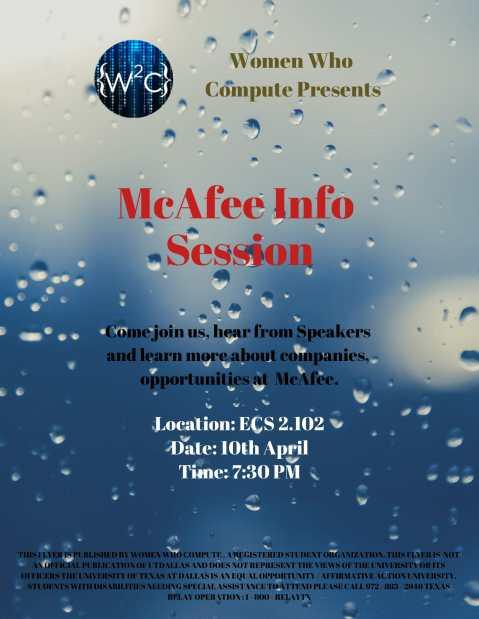 McAfee Event