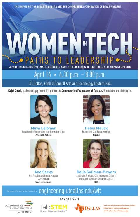 Women in Tech Leadership Panel